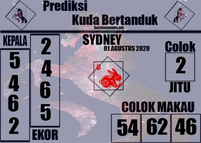 Kode syair Sydney Sabtu 1 Agustus 2020 264