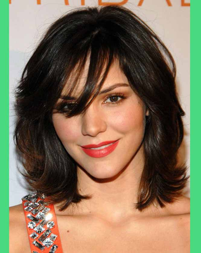 Outstanding Medium Length Curly Hairstyles For Round Short Hairstyles For Black Women Fulllsitofus