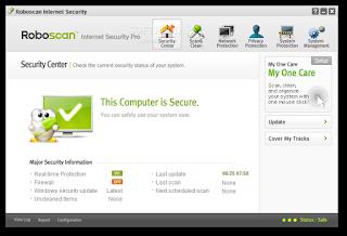 تنزيل برنامج مكافحة الفيروسات للكمبيوتر Roboscan Internet Security