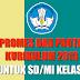 Promes dan Prota Kelas 1 SD/MI Kurikulum 2013