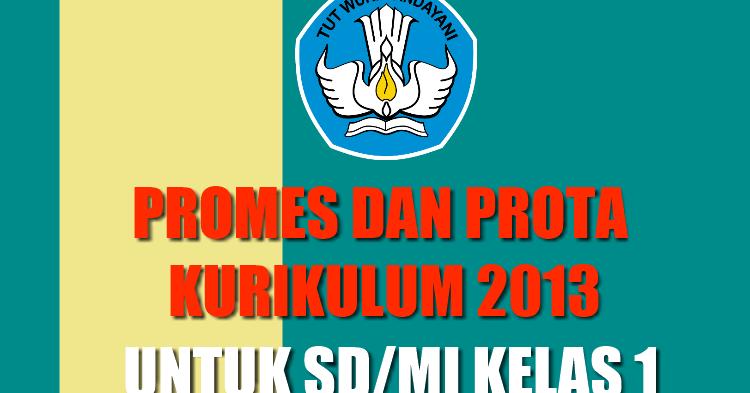 Promes Dan Prota Kelas 1 Sd Mi Kurikulum 2013 Guru Madrasah