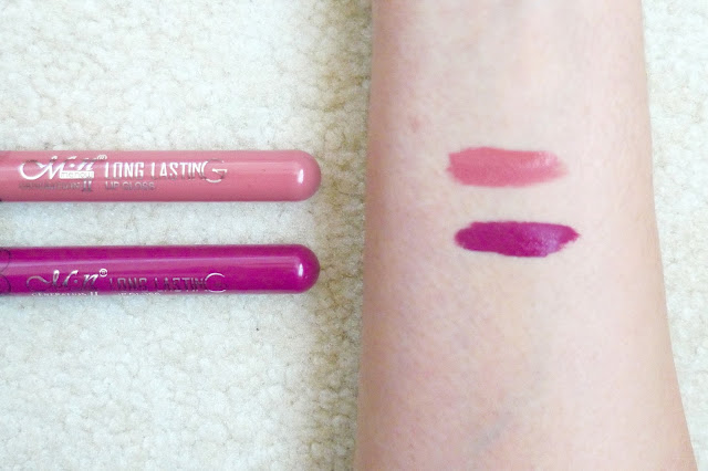 eBay Liquid Lipsticks | Review, nyx, kylie cosmetics, dupe, abh, beauty, makeup, nude, bold