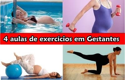 Dezenas de exercícios para Gestantes
