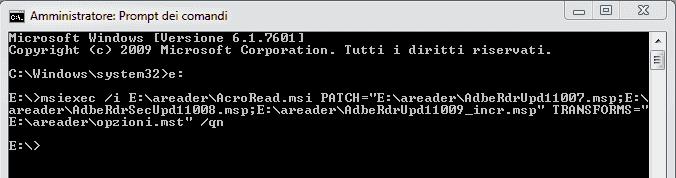 Adobe Customization Wizard XI - Prompt update multipli