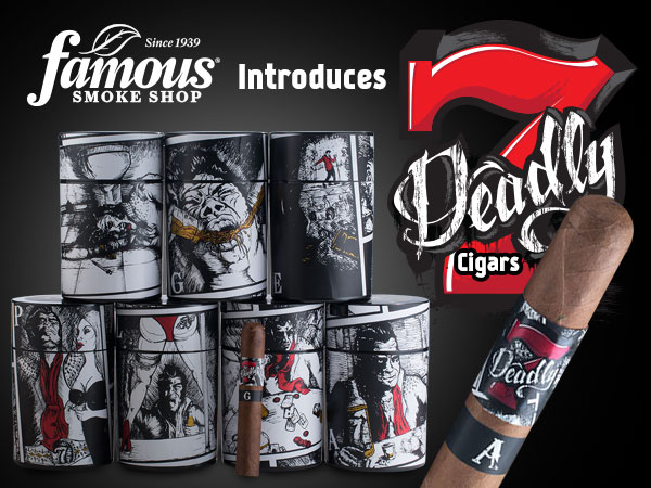 Tiny Tim's Cigar World!: FAMOUS SMOKE SHOP RELEASES THE