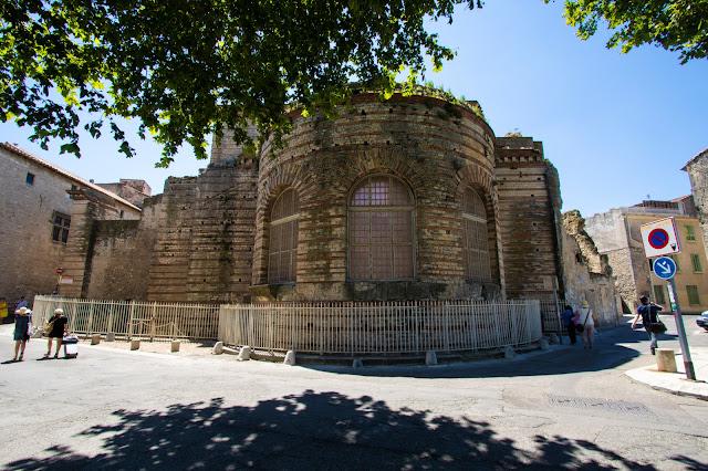 Terme di Costantino, Arles