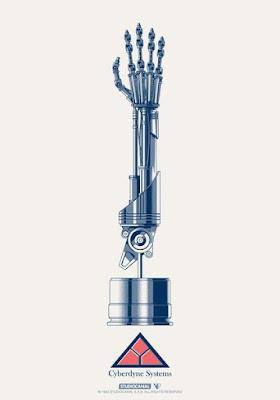 Thought Bubble 2017 Exclusive Terminator 2 Judgement Day Handbill Screen Print by Matt Ferguson x Vice Press