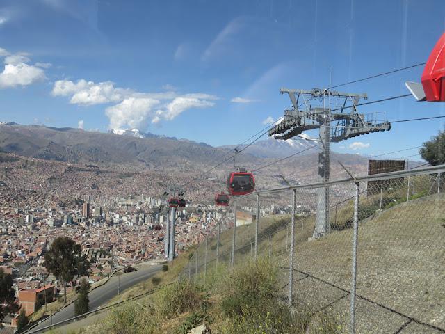 Heute soll Euch ein Gruß aus La Paz erreichen wo ich mich zum verlängern meiner Ausweise befinde.