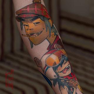 foto 14 de tattoos inspirados en grandes bandas
