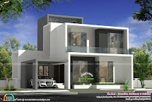 Cute Simple Contemporary House Plan - Home Design Decor