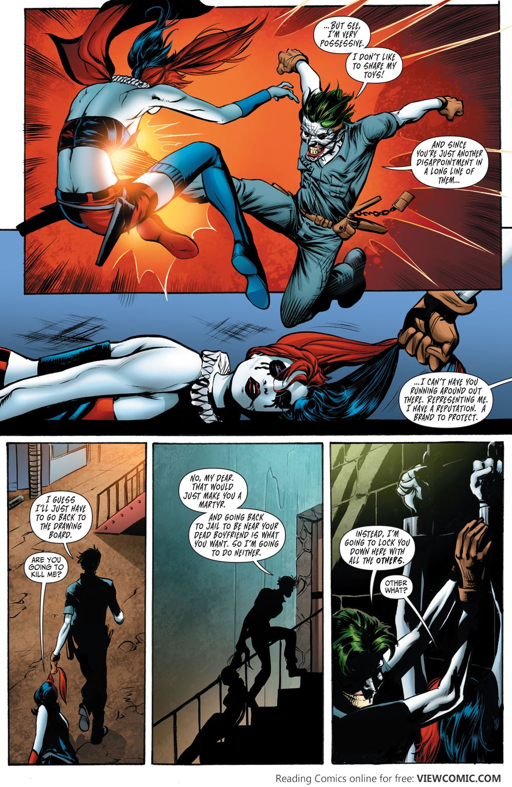 Death of the Family – 12 – Suicide Squad 015 | Viewcomic reading