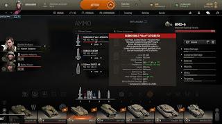 municiones HE y HEAT en armored warfare