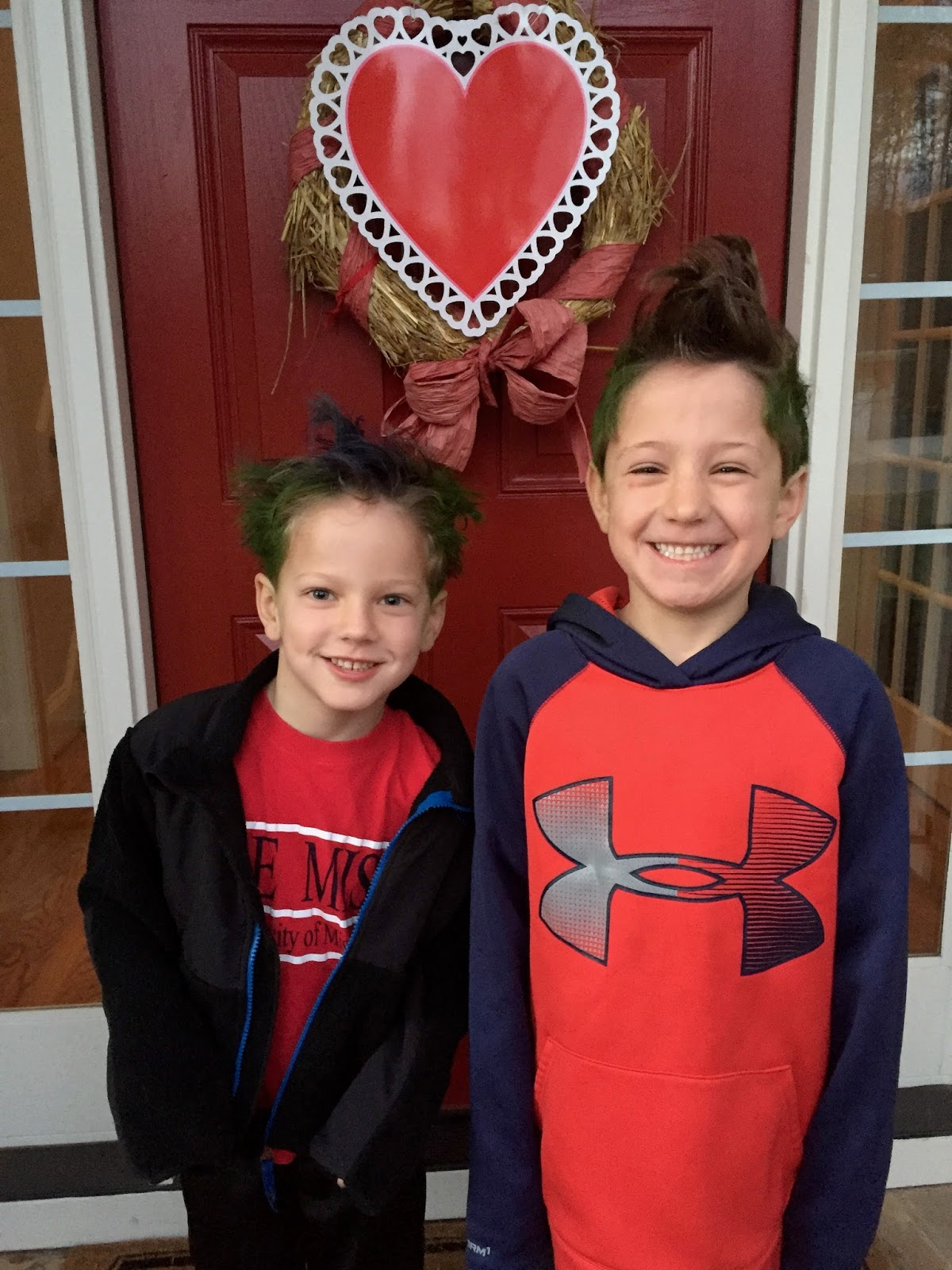 The Williamson Way Crazy Hair Day