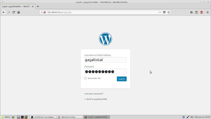Cara Cepat Install CMS Wordpress di Linux Mint GNU/Linux