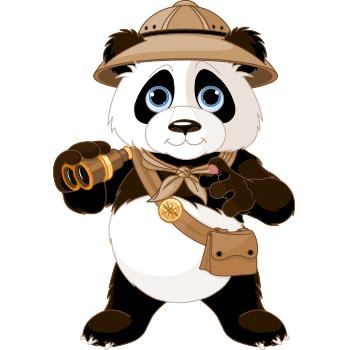 Safari Panda