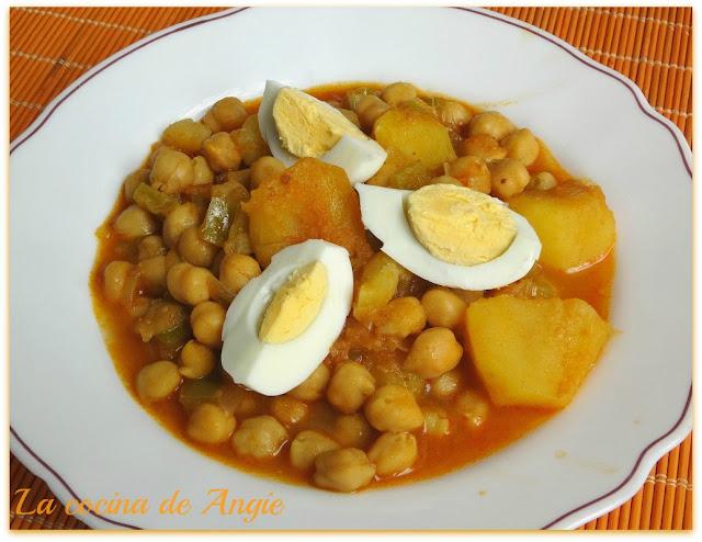 Garbanzos Al Ras El Hanout (olla Gm)
