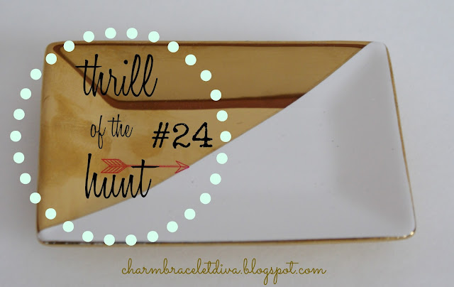 thrill of the hunt #24 charm bracelet diva {at home}