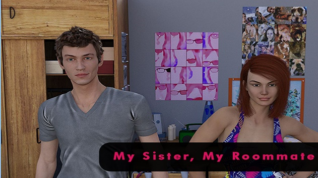 My Sister, My Roommate Apk Game For Android Free Download -9800