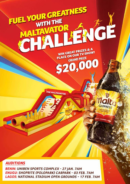 2 days to go! Lagos are you ready for the Maltavator Challenge