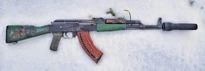 Green-Romanian-AK-Grinch