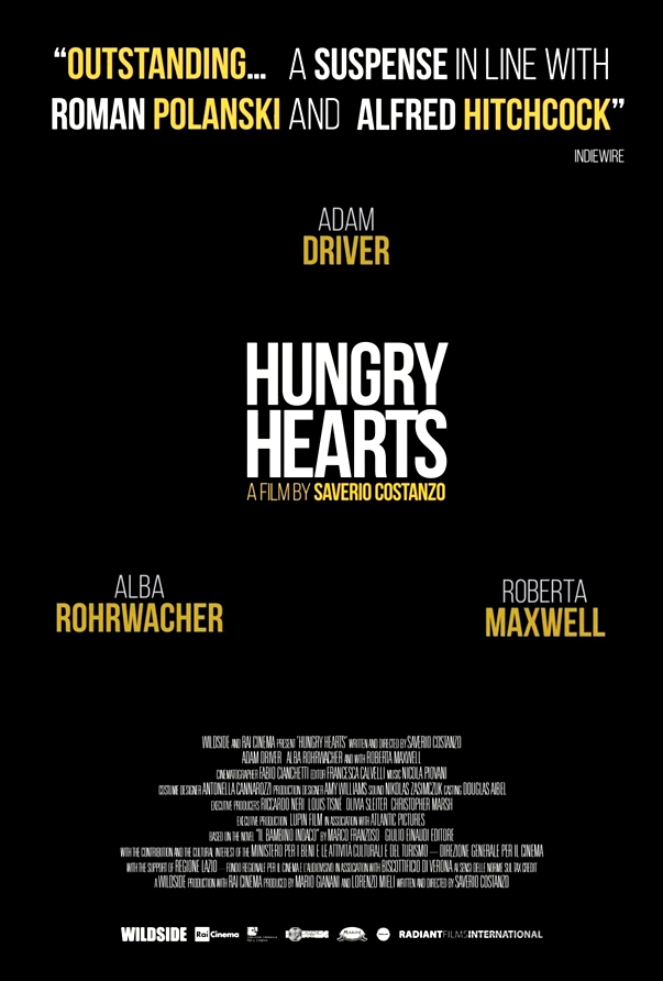 Póster Hungry Hearts