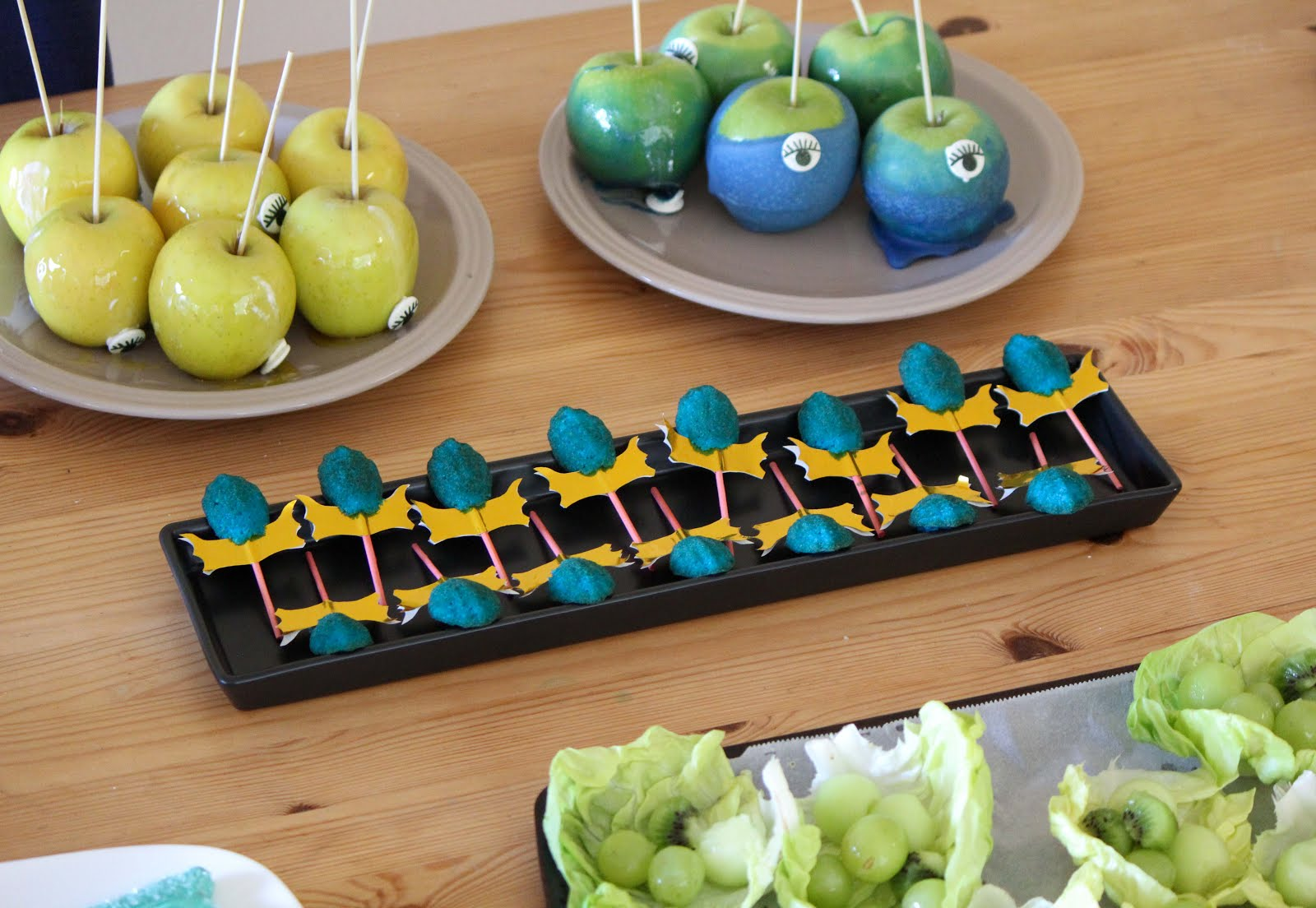 Dota 2 aghanim's scepter madeleine cakes, served with observer and sentry wards.