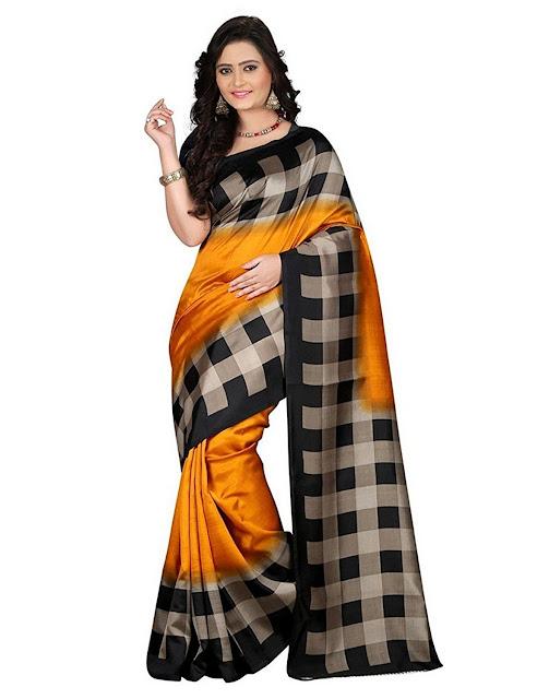 Sarees At Amazon, Amazon Sarees Below 500, Amazon India Offers, Half Sarees At Amazon, half sarees below 1000, Design Sarees Online, Buy Sarees, Half Saree Designs