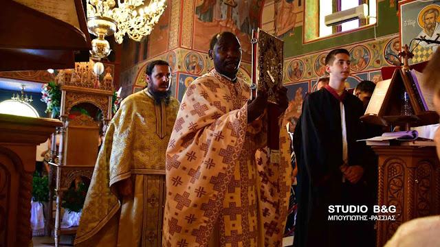 Θεία Λειτουργία Αγίας Μαρίνας στο Νέο Ροεινό Ναυπλίου