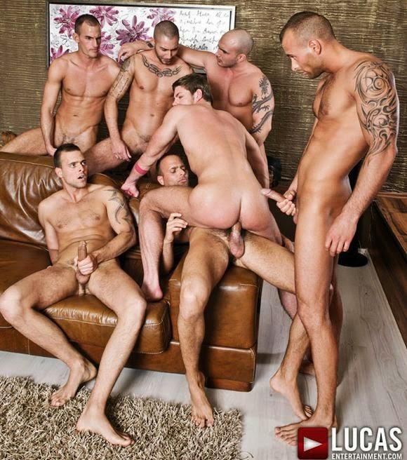 Suruba Gay Bareback com os Melhores Machos