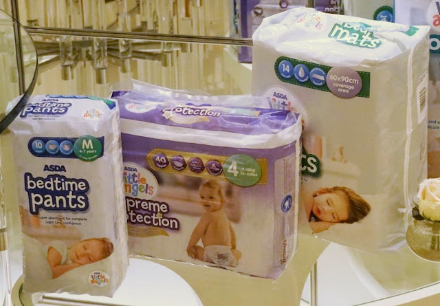 ASDA Little Angels Nappy Range
