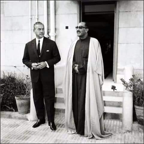 """الرئيس السادات فلاح """"مِيت أبو الكوم"""""""