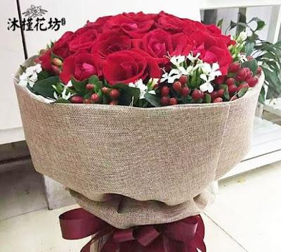 Kertas Buket Bunga / Flower Bouquet Wrapping Paper (Seri FM)