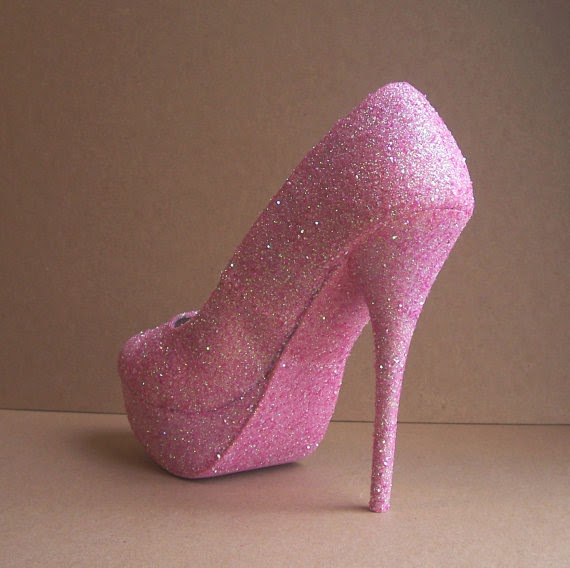 Cute Hello Kitty High Heels Shoes For Girls