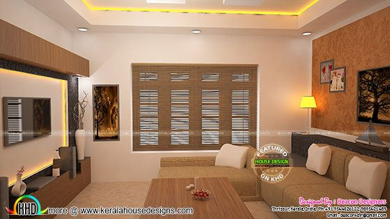 Living room interior, Thrissur