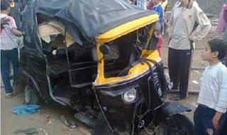 مصرع سائق في حادث تصادم على الطريق الزراعي الغربي بسوهاج