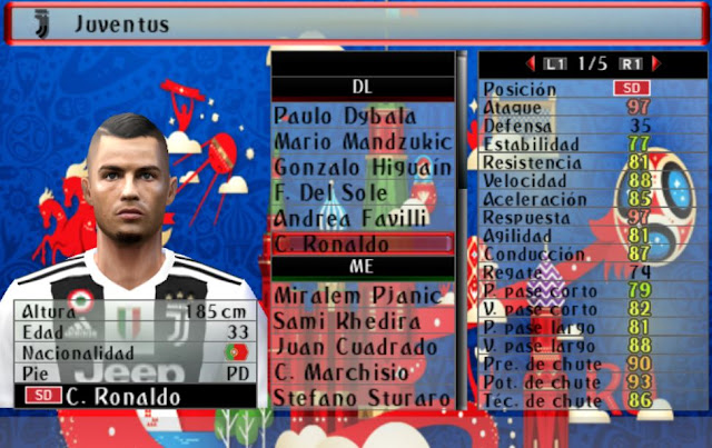 PES 6 New Option File Summer Transfers 2018/2019 - Micano4u | PES