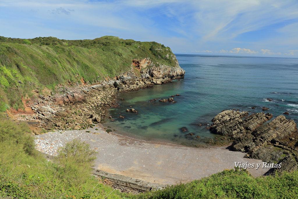 Punta del Castiello y Playa Morís