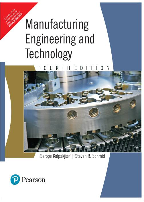 Manufracturing Engineering & Technology by Kalpak jain