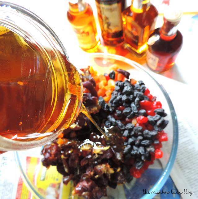 Xmas fruit cake mix recipe