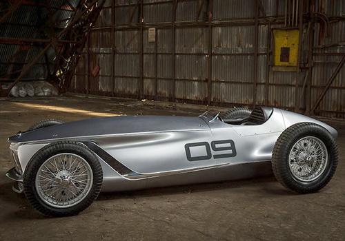 Tinuku.com Infiniti Prototype 9 retro-electric 1940s style