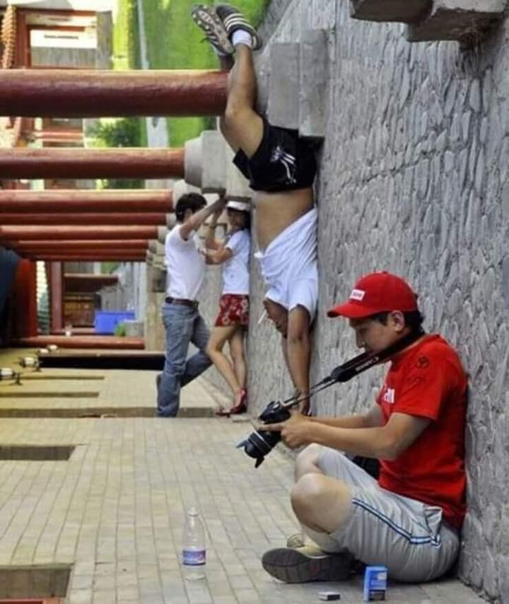 A prova de que a questão de perspectiva de uma foto engana nossos olhos