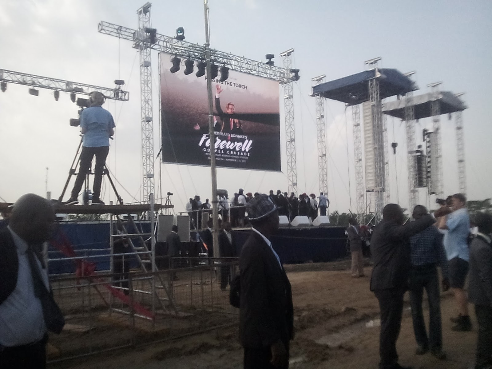 Pictures Reinhard Bonnke's Farewell Lagos Crusade