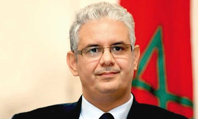 الأمين العام لحزب الإستقلال نزار بركة يهنئ طارق قديري بمناسبة فوزه بمقعد برلماني
