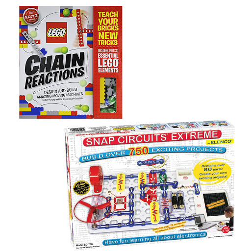 Lego Chain Reactions and Mindstorms