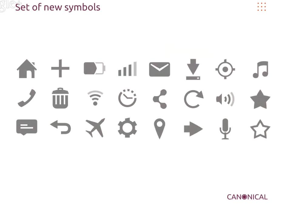 Ubuntu 14.04 LTS: le prime immagini del nuovo set d'icone