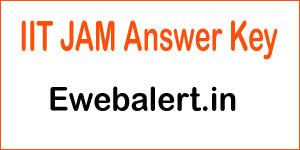 IIT JAM Answer Key