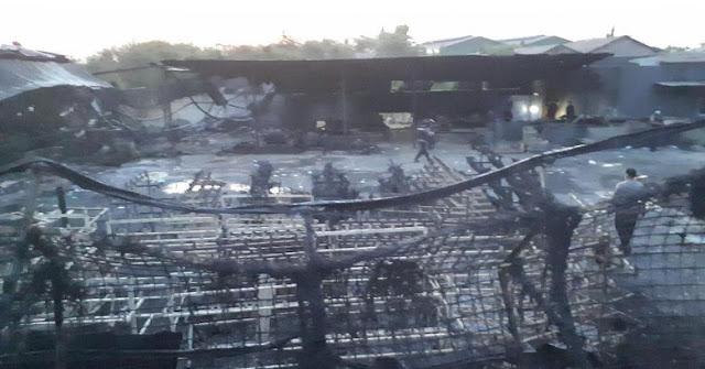 Kronologi Kebakaran Pabrik Kembang Api Tangerang beserta Foto Didalam Pabriknya