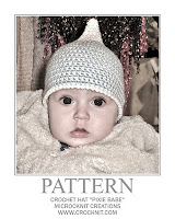 crochet patterns, how to crochet, pixie, elf, baby hat, newborn hat,