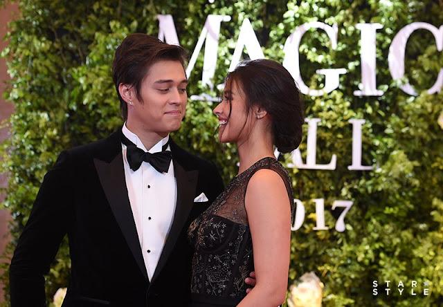 Photos: Liza Soberano and Enrique Gil at 2017 Star Magic Ball