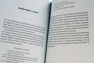 Przykładowy przepis – kalafior babci z serem